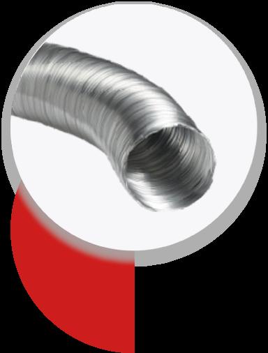 Ventilation : gaines spiralées rigides